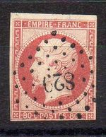 FRANCE ( OBLITERATION LOSANGE ) PC  829 Chauny Aisne  COTE  2.10  EUROS , A  SAISIR . R 7 - Marcophilie (Timbres Détachés)