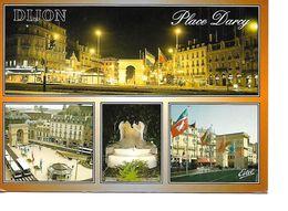21 DIJON Cpm Multivues Place Darcy - Dijon