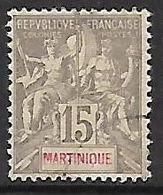 MARTINIQUE N°46 - Gebraucht