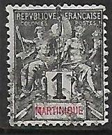 MARTINIQUE N°31 - Gebraucht