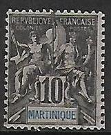MARTINIQUE N°35 - Gebraucht