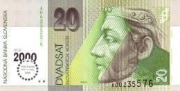 SLOVAKIA P. 34 20 K 1993 UNC - Slowakije