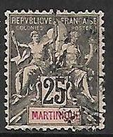 MARTINIQUE N°38 - Gebraucht