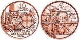 """AUSTRIA  10€  2.020  2020 COBRE/COPPER  """"COURAGE-VALOR AUSTRIA""""  SC/UNC   T-DL-12.470 - Autriche"""
