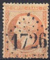 FRANCE ( OBLITERATION LOSANGE ) GC  1726  Guebviller Haut-Rhin   COTE  2.25  EUROS , A  SAISIR . R 7 - Marcophilie (Timbres Détachés)