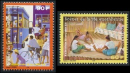 POLYNESIE 2004 - Yv. 706 Et 707 ** TB  Faciale= 1,26 EUR - Vie Quotidienne (2 Val.)  ..Réf.POL25277 - Polinesia Francesa