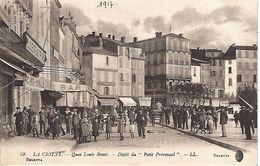 CPA13- LA CIOTAT- Quai Louis Benet- Dépôt Du ''Petit Provençal'' - La Ciotat