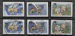 Nederland - 1990 - Y&T 1366/1368-  ** En O - - Periodo 1980 - ... (Beatrix)