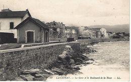 CPA13- LA CIOTAT- La Gare Et Le Boulevard De La Tasse - La Ciotat