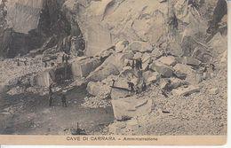 ITALIA - CAVE DI CARRARA - Leggi Tersto, Animata, Anni 10 - 2020-C-259 - Carrara