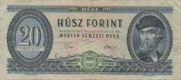 Hongrie : 20 Forint 1975 Mauvais état - Hungary
