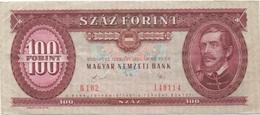 Hongrie : 100 Forint 1989 Bon état - Hungary