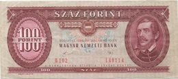 Hongrie : 100 Forint 1989 Bon état - Ungarn