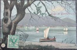 ITALY ITALIA Cartolina 1906 Lago Di GARDA (Salo) - Lombardia - Italy