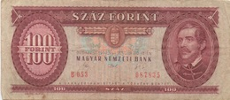 Hongrie : 100 Forint 1992 Moyen état - Hungary