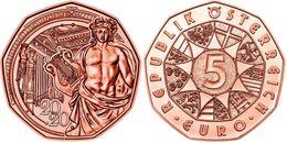 """AUSTRIA  5€  2.020  2020 COBRE/COPPER  """"AÑO NUEVO""""  SC/UNC   T-DL-12.472 - Autriche"""