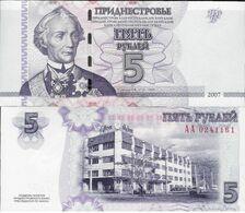 Transnistria 2007 - 5 Rublei - Pick 43 UNC - Billets