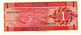 NEDERLANDSE ANTILLEN 1 GULDEN PICK 20a UNCIRCULATED - Antilles Néerlandaises (...-1986)
