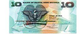 PAPOEA NIEUW GUINEA 10 KINA PICK 9d UNCIRCULATED - Papoea-Nieuw-Guinea
