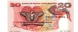 PAPOEA NIEUW GUINEA 20 KINA PICK 10d? UNCIRCULATED - Papoea-Nieuw-Guinea