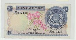 1$ SINGAPORE 1967/1973 - Singapore