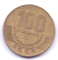 COSTA RICA 2000: 100 Colones, KM 240 - Costa Rica