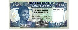 SWAZILAND 10 EMALANGENI PICK 29c UNCIRCULATED - Swaziland