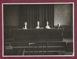 050720B - 1951 PHOTO - Tribunal De TULLE Juge Président Greffier - Justice - Tulle