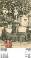 WW 23 MONTELIMAR. Cérès Déesse De L'Agriculture Animation 1907 Carte Légèrement Gondolée... - Montelimar