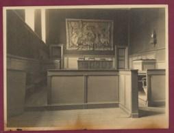 050720B - 1949 PHOTO - 23 Tribunal D' AUBUSSON Salle D'audience - Justice TAPISSERIE - Aubusson