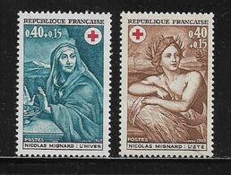 FRANCE  ( FR6 - 419 )  1969  N° YVERT ET TELLIER  N° 1619/1620    N** - France