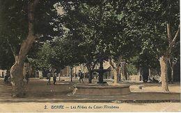 CPA13- BERRE- Les Allées Du Cours Mirabeau - Autres Communes