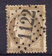 FRANCE ( OBLITERATION LOSANGE ) GC  1122   Conty Somme  COTE  6.00  EUROS , A  SAISIR . R 7 - Marcophilie (Timbres Détachés)