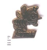 B19 Pin's  Abeille Miel Sucre LANGNESE  Unilever Deutschland Achat Immédiat - Tiere