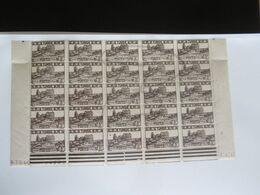 VEND BEAUX TIMBRES DE TUNISIE N° 284 EN DEMIE-FEUILLE + CD , XX !!! - Unused Stamps