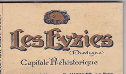 Reste De Carnet: 11 CPA  LES EYZIES,  Diverses Vues, Capitale Préhistorique - France