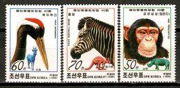 Korea 1999 Corea / Fauna Mammals Birds MNH Mamíferos Aves Vögel Säugetiere / Cu16922  33-39 - Non Classificati