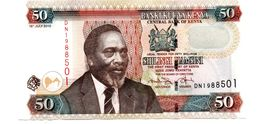 KENYA 50 SHILINGI PICK 47a UNCIRCULATED - Kenya