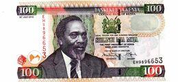 KENYA 100 SHILINGI PICK 48a UNCIRCULATED - Kenia
