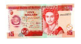 BELIZE 5 DOLLARS PICK 67d UNCIRCULATED - Belize
