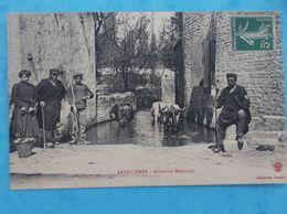 17: ARDILIERES : ABREVOIR MUNICIPAL , Animée  ,C.P.A.,en Bon état - Autres Communes