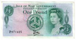 Isle Of Man 1 Pound 1983 BRADVEK - 1 Pound