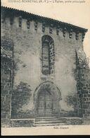 87 --  Coussac - Bonneval -- L'Eglise , Porte Principale - Sonstige Gemeinden
