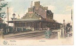 ST/26//    NIVELLES      LA GARE   1909 - Belgium