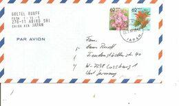 Japon ( Lettre Par Avion De 1991 Vers L'Allemagne à Voir) - Lettres & Documents
