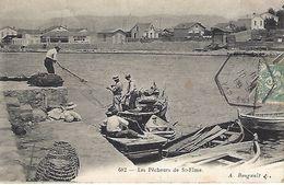 CPA83- LES SABLETTES- Les Pêcheurs De Saint Elme - La Seyne-sur-Mer