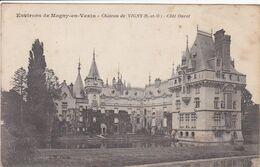 95  VIGNY ,environs De Magny En Vexin Château , Côté Ouest - Vigny