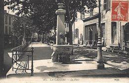 CPA83- LA CADIERE- La Place - Nans-les-Pins