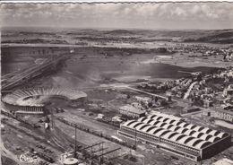52 CHALINDREY Vue Aérienne De La Rotonde Et Les Nouveaux Ateliers ,gare Avec Trains - Chalindrey