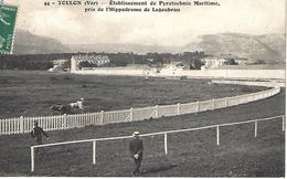 CPA83- TOULON- Etablissement De Pyrotechnie Maritime, Près De L'Hippodrome De Lagoubran - Toulon